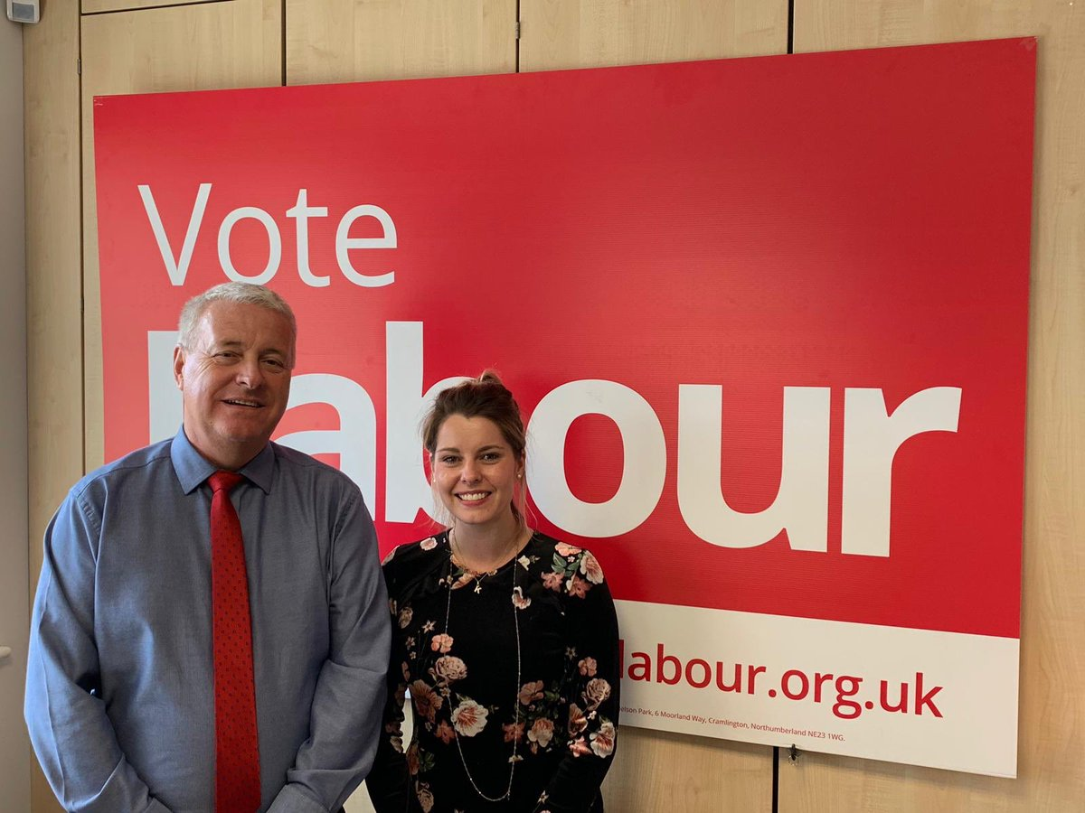 Great to get a visit from @KiMcGuinness following her selection as Labour's candidate for Police and Crime Commissioner in the #Northumbria Police area. Kim is going to make a great Police and Crime Commissioner. Make sure you're ready to #VoteLabour and Vote Kim McGuinness! 🌹👍