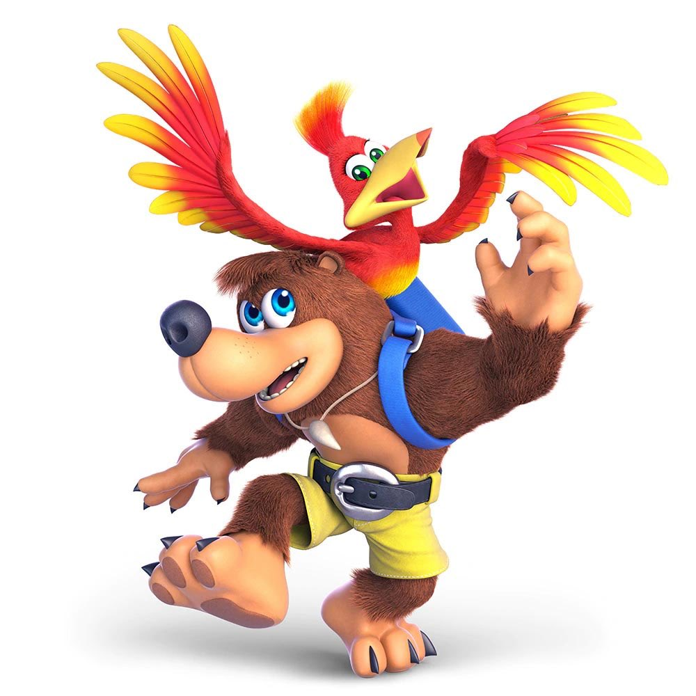 Here is a bit of a closer look at Banjo-Kazooie's render! <br>http://pic.twitter.com/ismB93pOg8