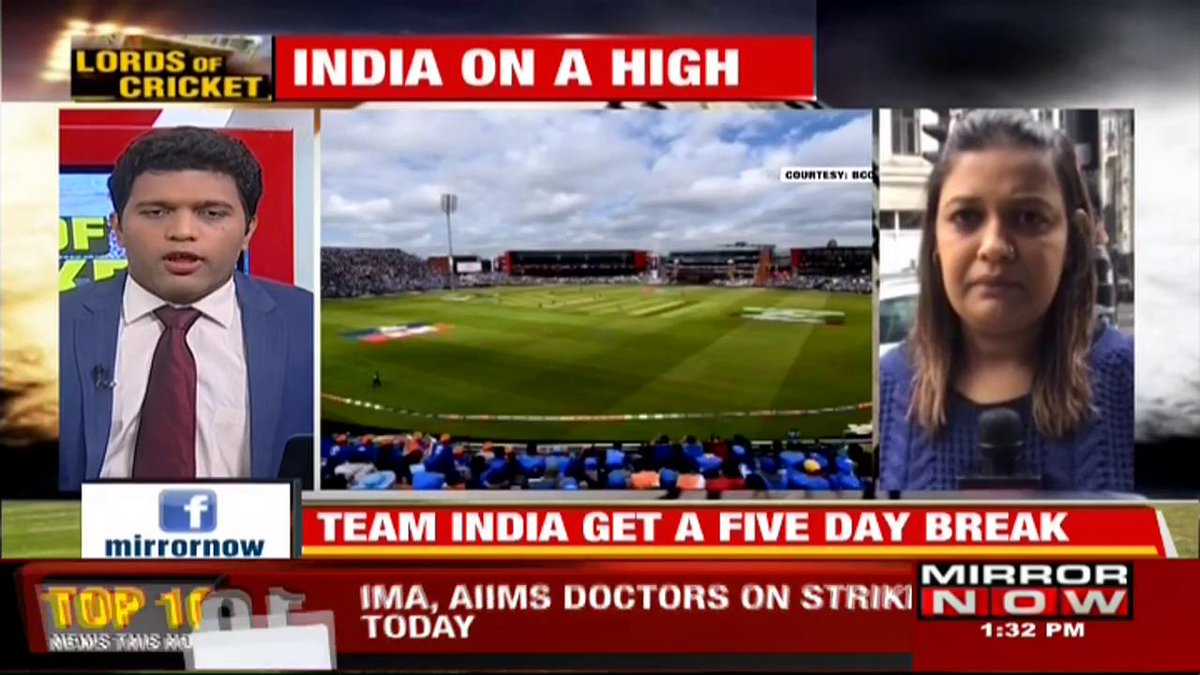 Lords of Cricket -- @karishmasingh22 reports LIVE from #Manchester and gives a sense of the mood after India's big win against Pakistan.#INDvsPAK #WorldCup2019 #CWC19 @VirenFerrao