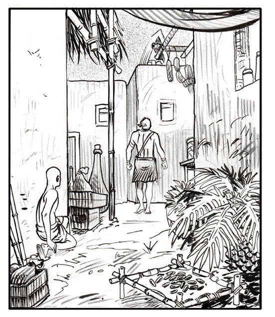 Fuite!!#delcourteditions #ancientegypt #bd #bandessinee #africa #priest #france #comics #frenchcomics #civilisation https://t.co/mVZ3UiI4jv