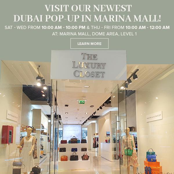 Visit our newest Dubai pop-up in Marina Mall   SAT-WED 10:00 AM - 10:00PM & THU-FRI 10:00 AM -12:00 AM Marina Mall Dome Area, Level 1  🔗https://bit.ly/2KkZ2y0    #Dubai #pop-up #Luxury #LuxuryPreloved #Preloved #Chanel #Hermes #Cartier #LouisVuitton #Dior #Celine #Prada