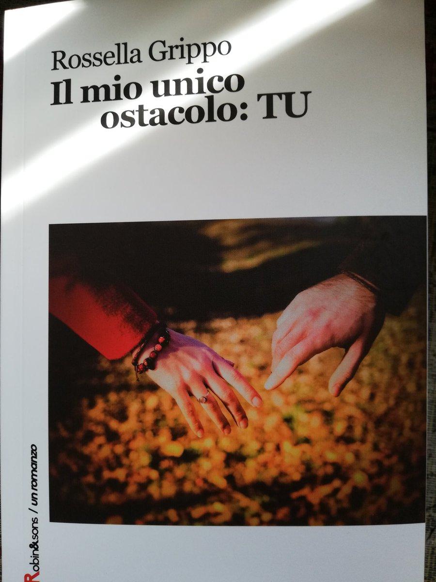 Corri in libreria e lasciati travolgere! #ilmiounicoostacolotu #rossellagrippo #book #romanzo #emozioniamoci https://t.co/cR4sG2D1mN