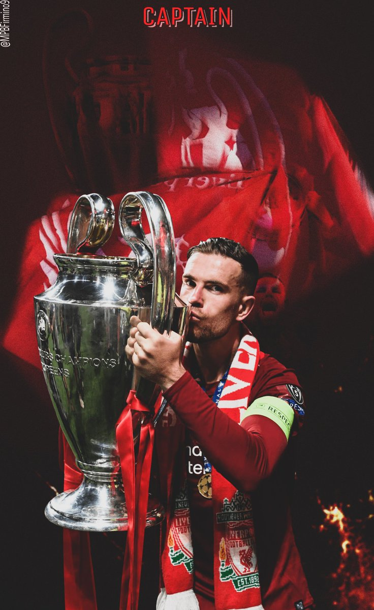 @JHenderson Lockscreens on our Captain's birthday ♥️  What a warrior he has been. A cult hero for me🔥  Feel free to use them 🙏   #LFC #lfcfamily #YNWA