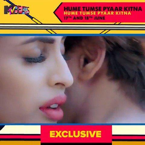 Yeh classic gaana aaya phir ek baar in a new age andaaz! #HumeTumsePyaarKitna now playing on #MTVBeatsExclusive.  #BloodMeinHaiBeat @KVBohra, @TheRealPriya, @shreyaghoshal, #RaajAshoo, @iam_juhi #Bollywood #Music