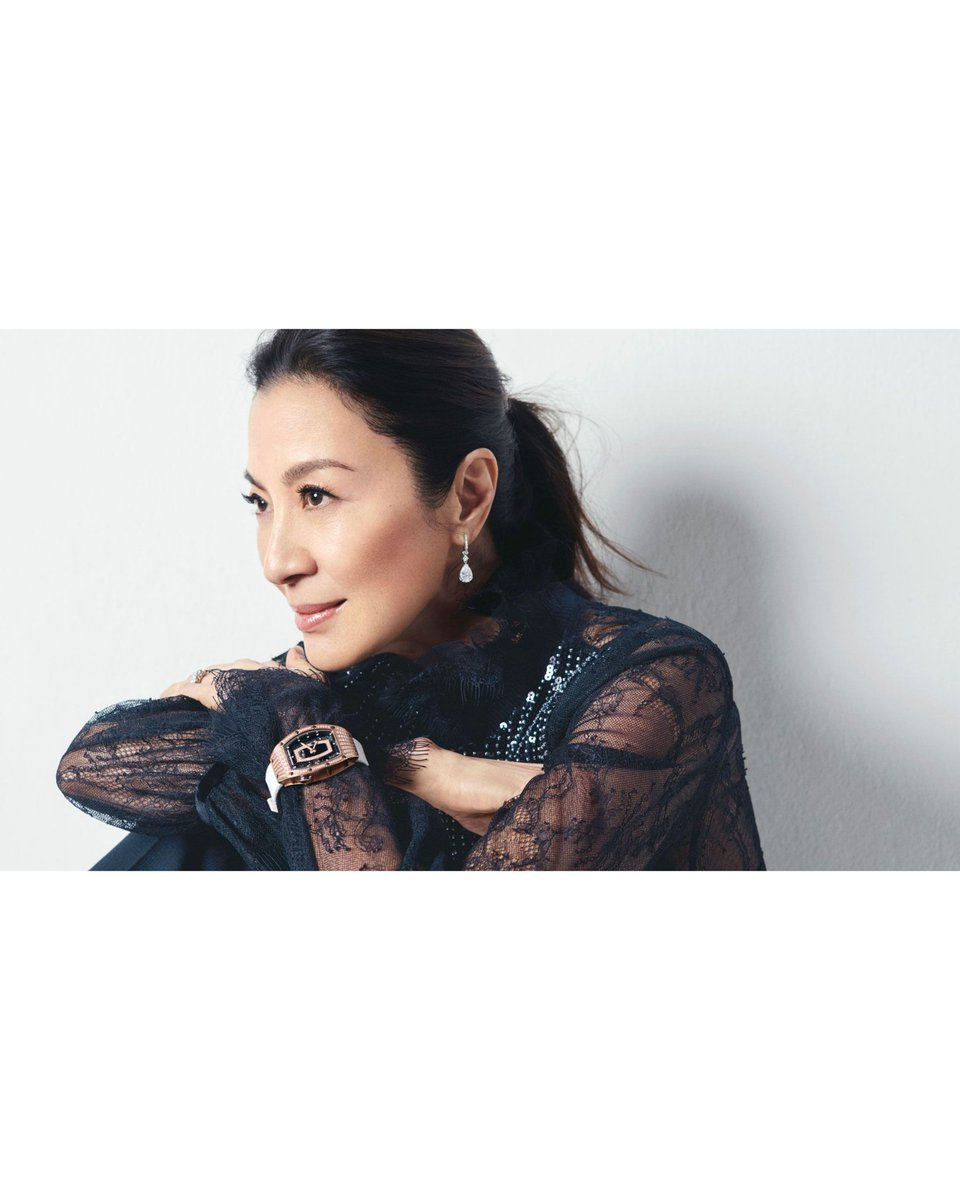 Michelle×Richard Mille⌚  #michelleyeoh #richardmille #queen #elegant #charming #gorgeous