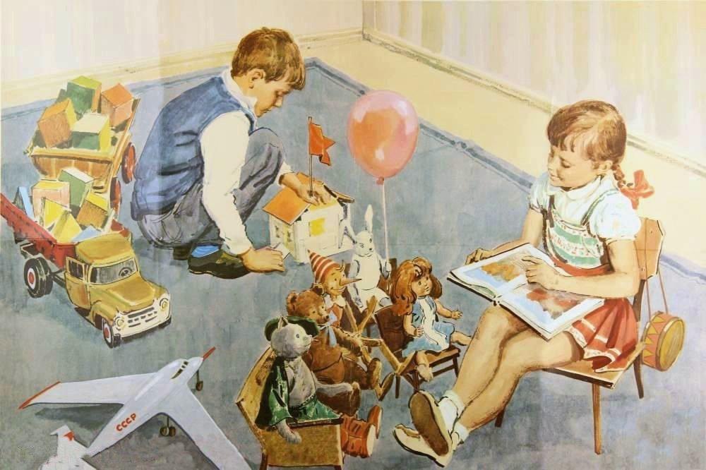 Февраля рисуем, картинки детские советские
