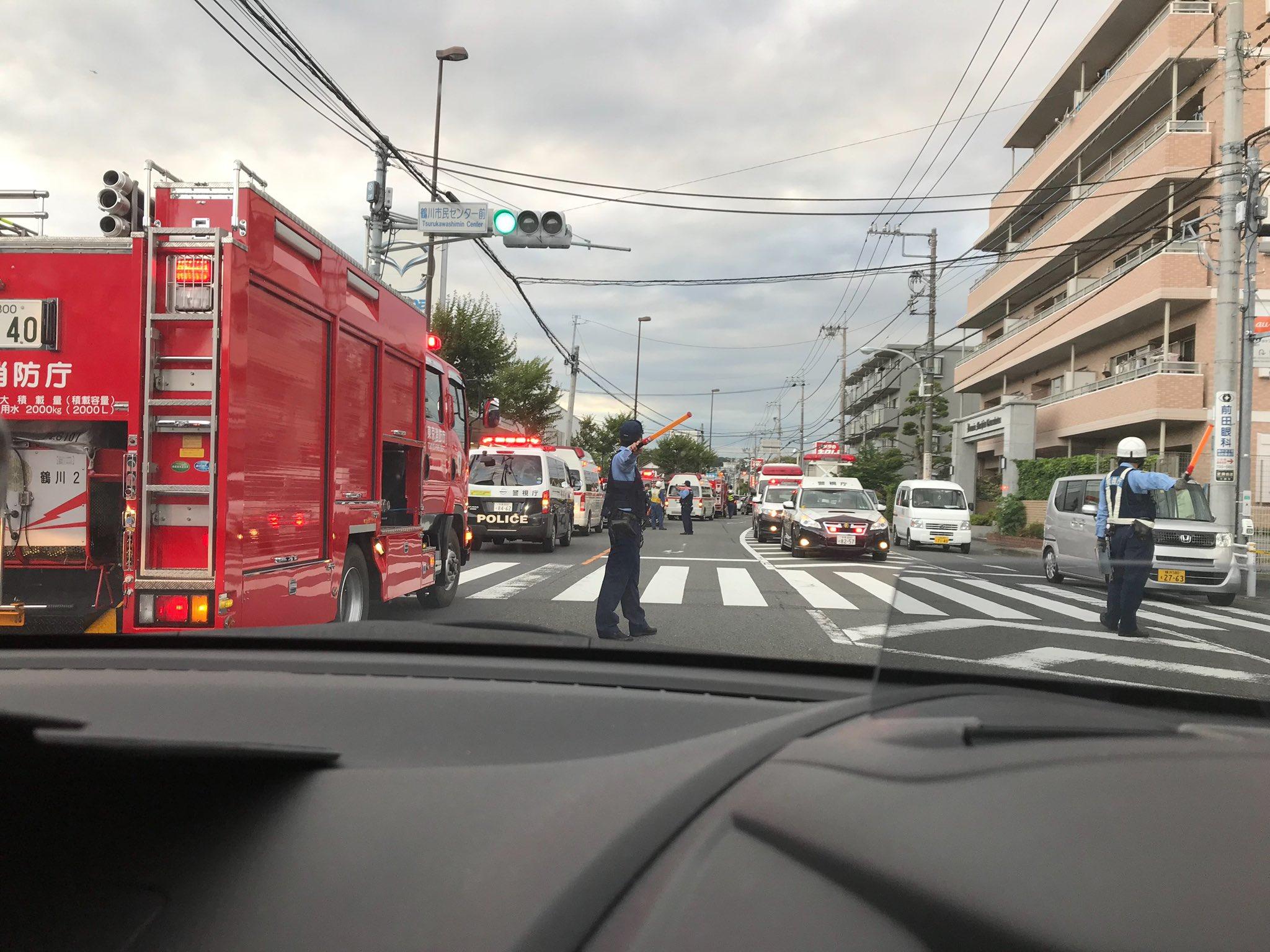 画像,町田で事故ニュースやってたから友達にお前か?って聞いたらほんとにそこにいたw https://t.co/pWYozUPfl6…