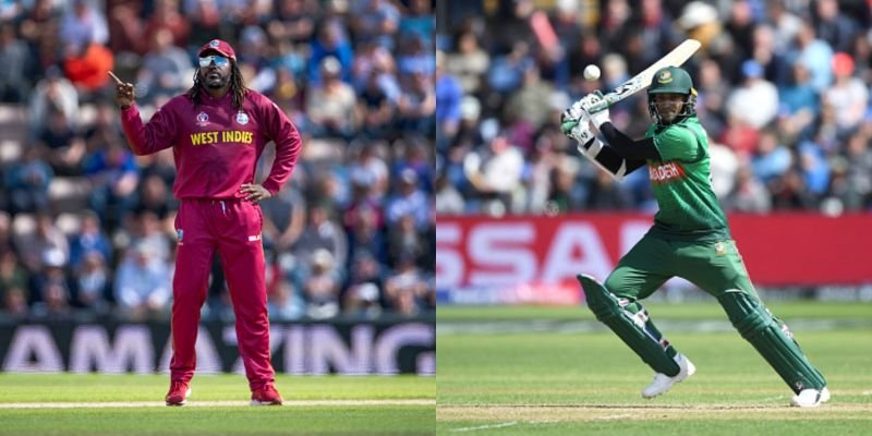 Find Live Score of ICC World Cup 2019 Men Bangladesh V/s West Indies