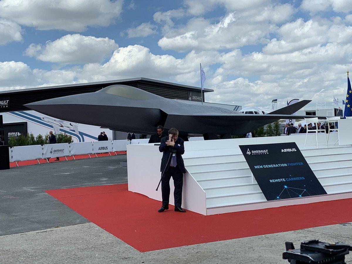 ألمانيا وفرنسا تتفقان على انتاج مقاتله الجيل السادس الاوروبيه FCAS D9QQ_tWWwAEWtiO