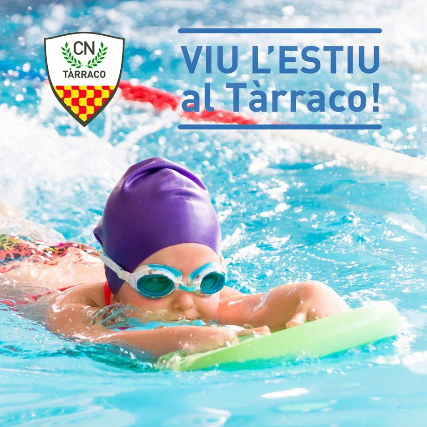 Aquesta tarda comencem els #cursets intensius #natació! Encara no els  has apuntat? D'avui i fins el 6 de setembre, cursets per a nens/es de 3 a 14 anys.  Coneix tot els detalls aquí http://www.cntarraco.cat/…/act…/195/cursets-intensius-destiu #cntarraco #laiguaesnostra