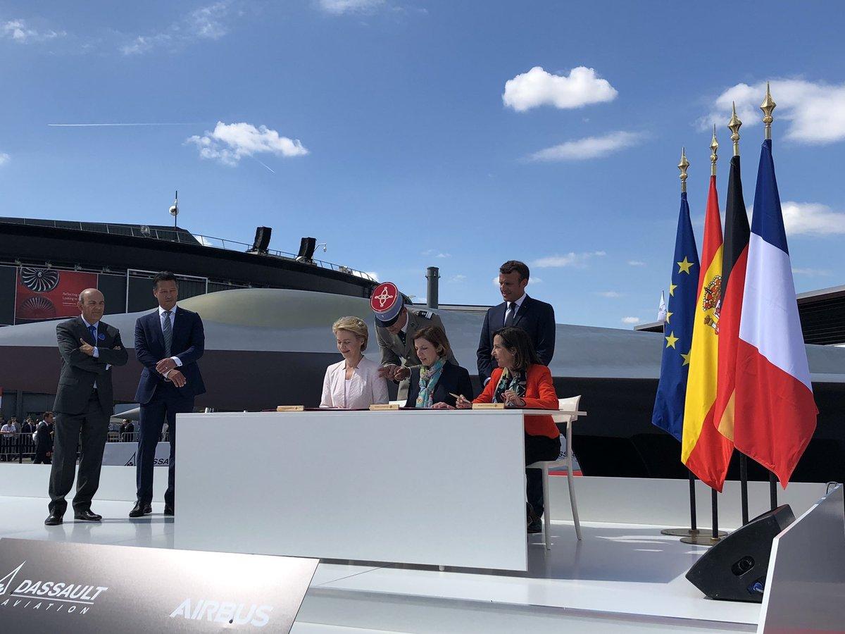 ألمانيا وفرنسا تتفقان على انتاج مقاتله الجيل السادس الاوروبيه FCAS D9QUyHoXkAAid7j