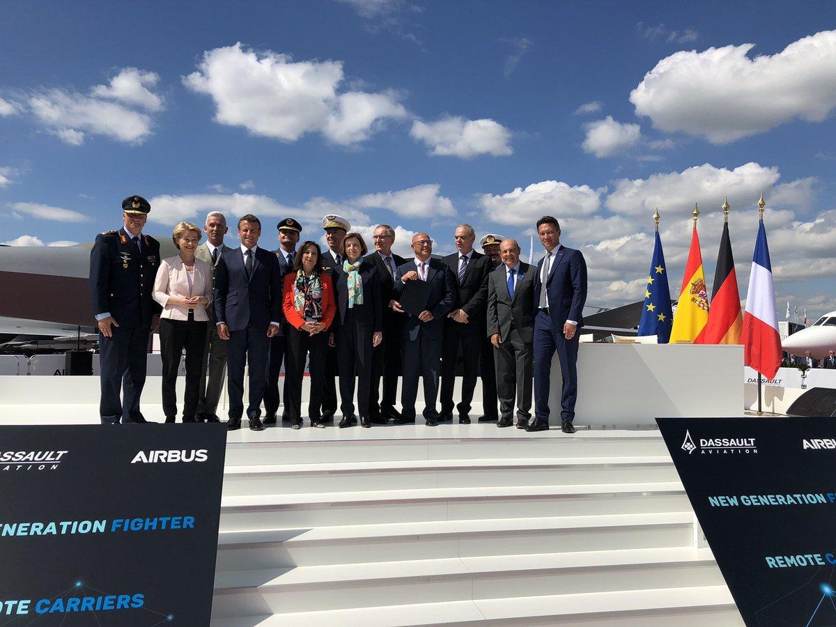 ألمانيا وفرنسا تتفقان على انتاج مقاتله الجيل السادس الاوروبيه FCAS D9QUyHpX4AUIWHy
