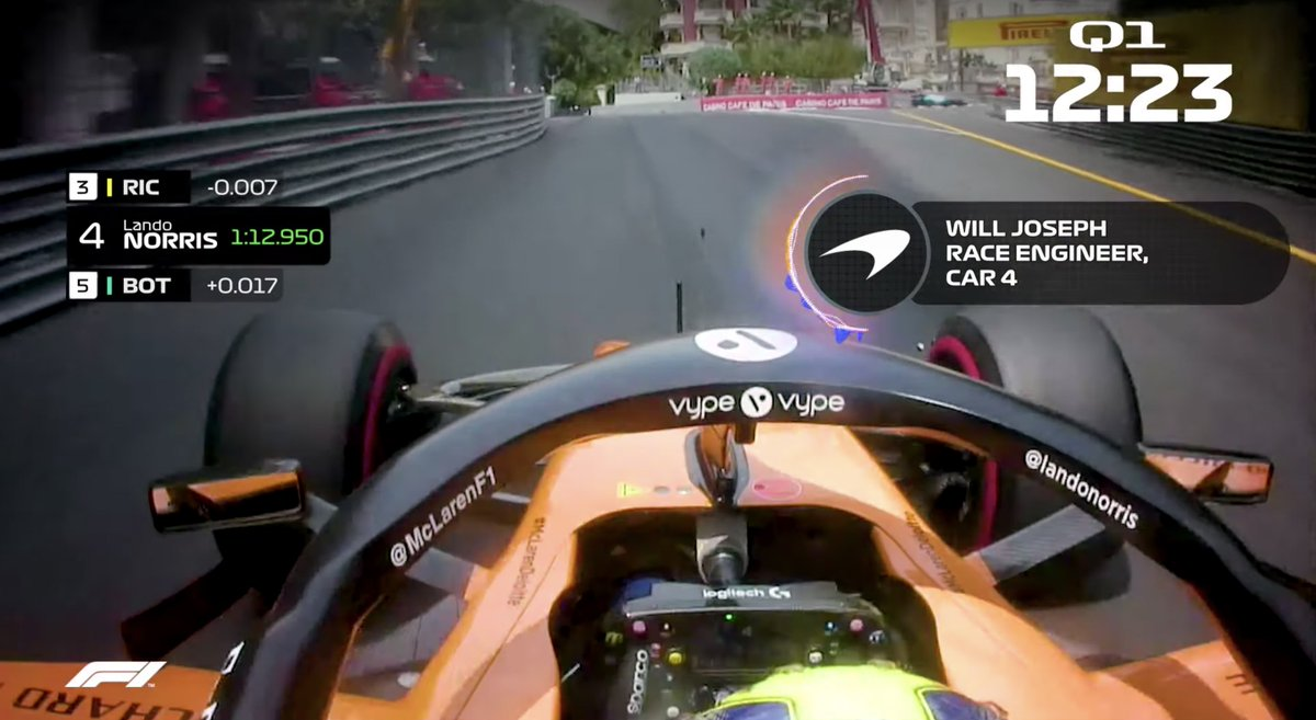 Ever wanted to grab your headphones and listen in to team radio? 🎧👂  Well, here's your chance! Watch the full video as we throwback to qualifying at the #MonacoGP with @F1 👀➡️ http://mclrn.co/MonacoRadio