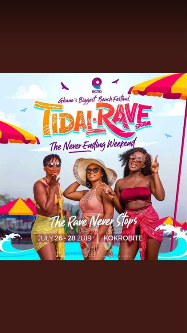 Ladies and gentlemen, boys and girls, its TIDAL RAVE 2019!!??!!!!?!! This is the 8th wonder Its like nothing you've seen before You can't miss this festival of jams From Friday 26th July to Sunday the 28th  #Tidalrave2019 #NeverEndingWeekendOfFun<br>http://pic.twitter.com/FUUKf9nZhH
