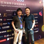 Image for the Tweet beginning: Egretia founder Peter and Japanese
