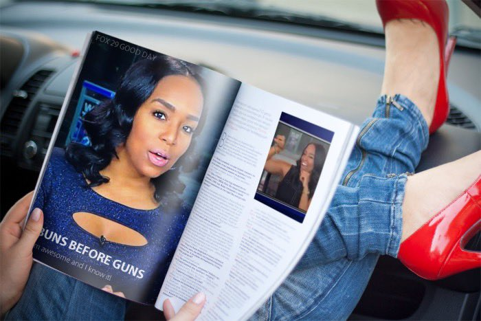 Recent article features @LaurenDawnFox29's new workout philosophy #BunsBeforeGuns.  #FOX29GoodDay @FOX29philly<br>http://pic.twitter.com/VJCuE8WSaI