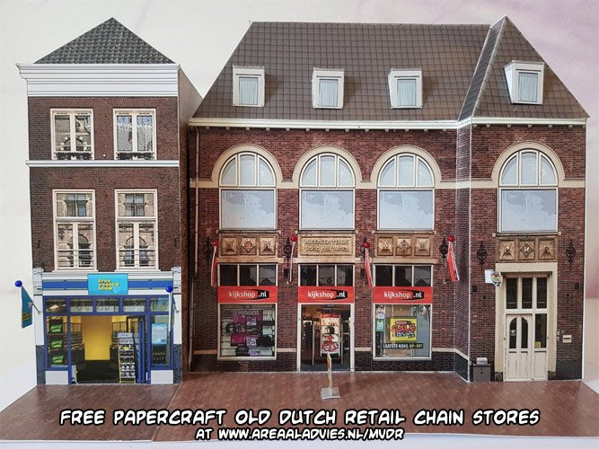 Some famous retail chain stores from the Netherlands that