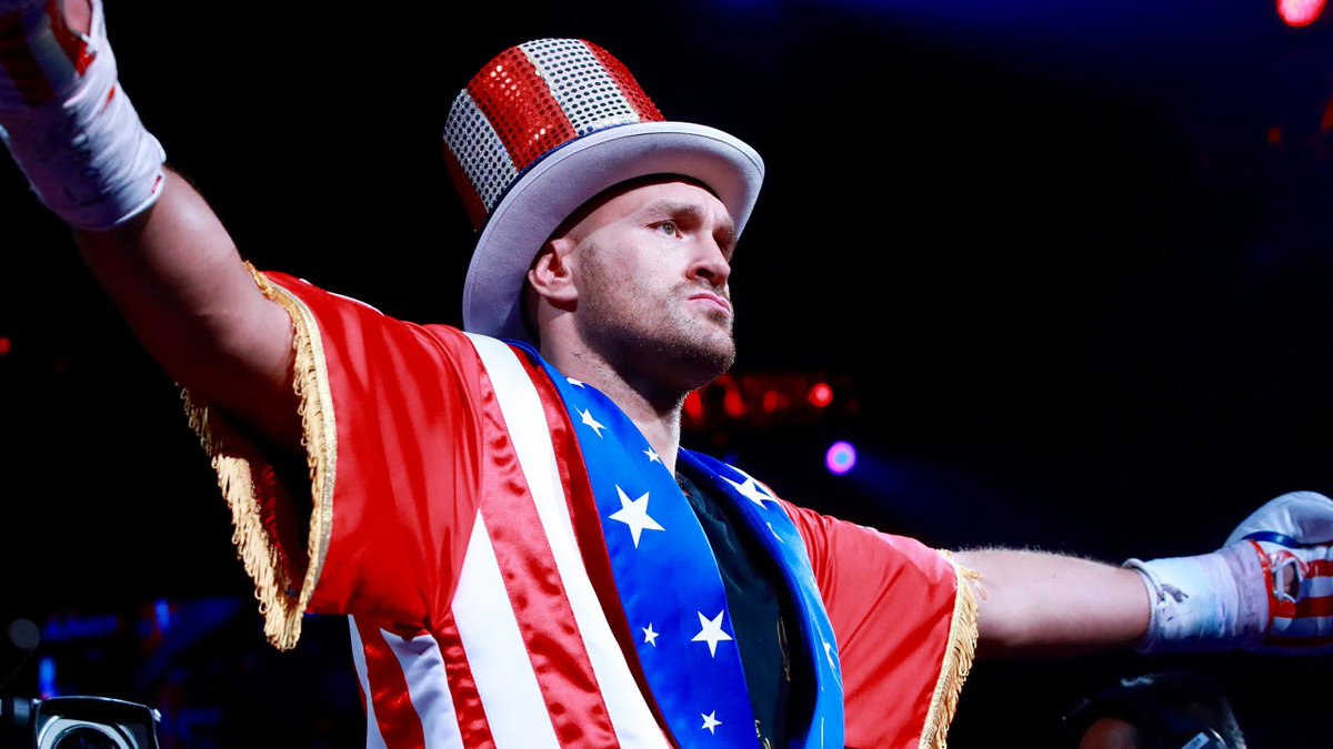 The Gypsy King loves Las Vegas and Las Vegas loves the Gypsy King 🇺🇸Just when you thought Tyson Fury's ring walks couldn't get any better, he goes and does this 🔥Here's his incredible ring walk against Tom Schwarz in full...