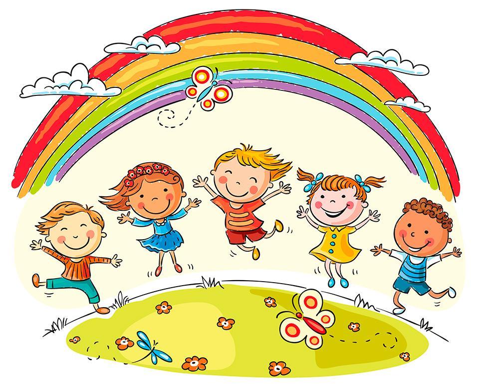 Веселые картинки лето для детей, самому открытку