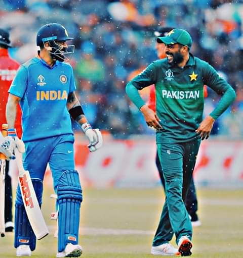 A fantastic occasion without any sign of trouble:Current players shared jokesFormer greats had a laughFans cheered their team, sat side by side#INDvPAK