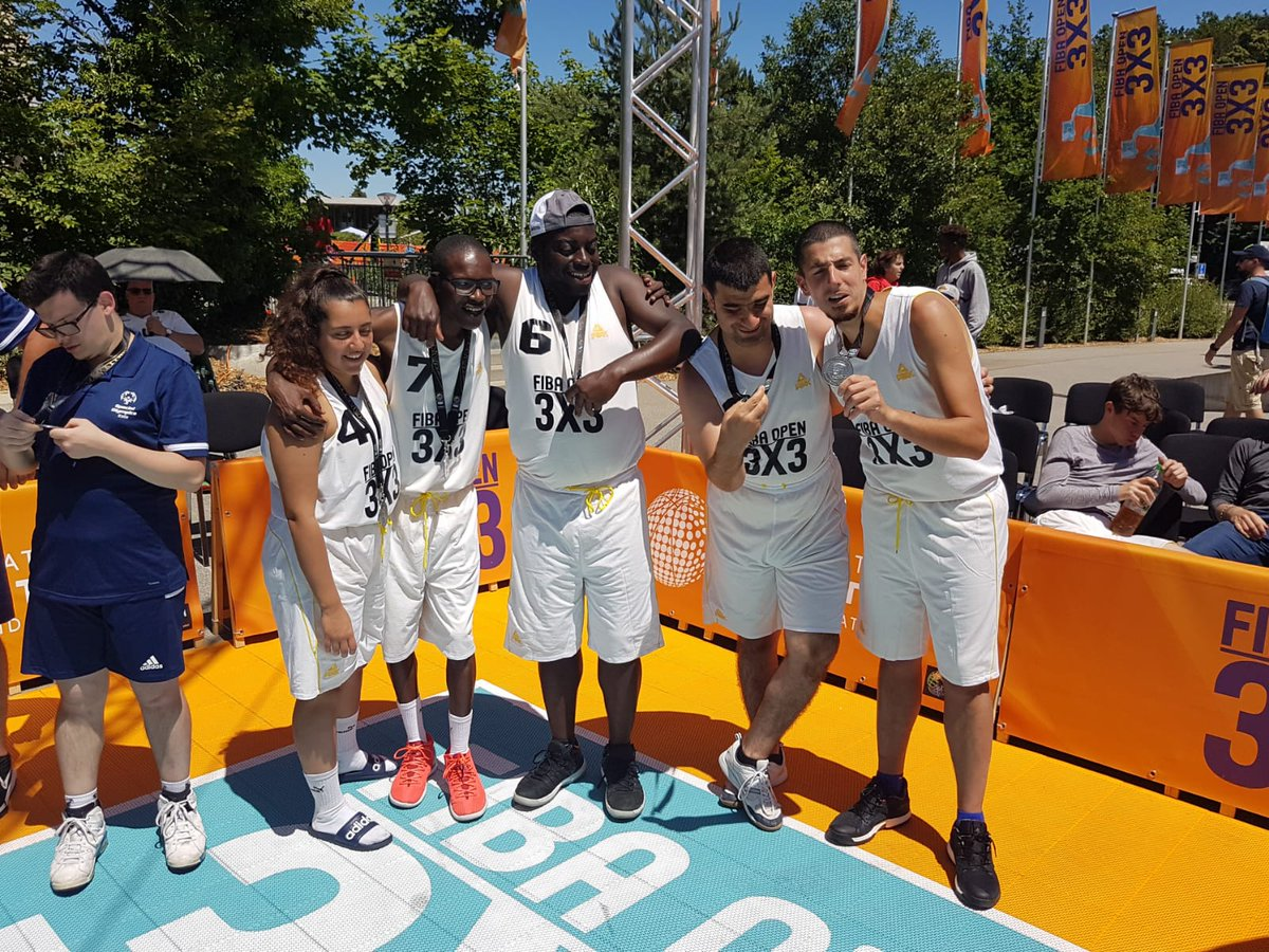 We were thrilled to launch @SpecialOlympics-International Basketball Foundation (IBF) partnership at @FIBA3x3 Open in Mies! Thanks to @NBA legend & Special Olympics Global Ambassador, Sam Perkins, for being courtside to support! Read more: http://bit.ly/31Cs3dX