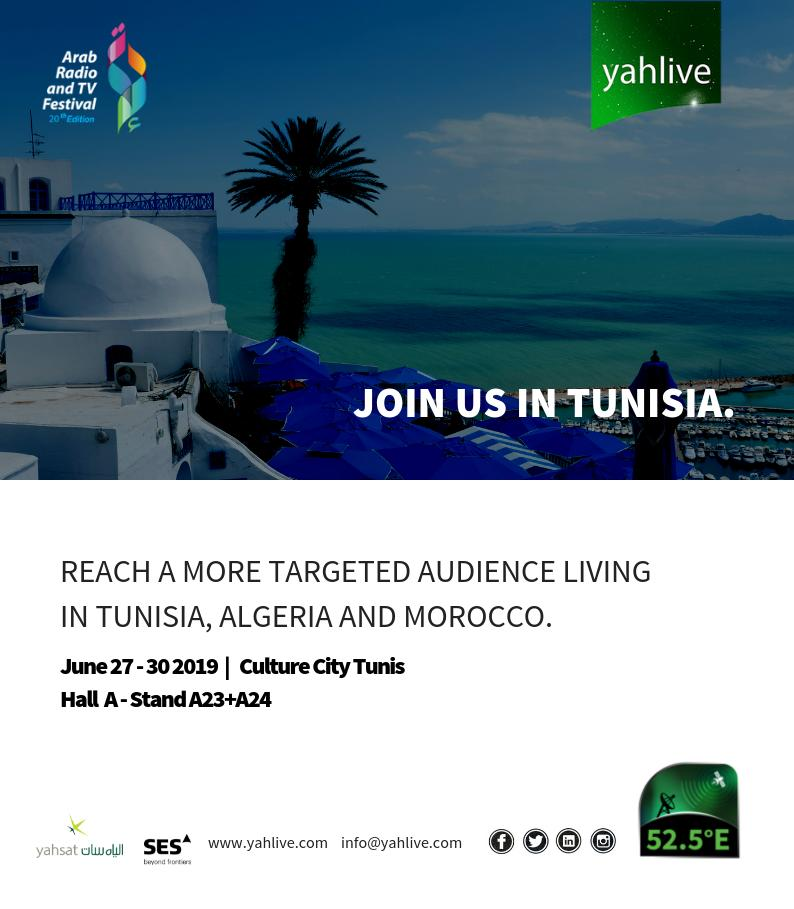 Tunisia Tv Channels Frequency