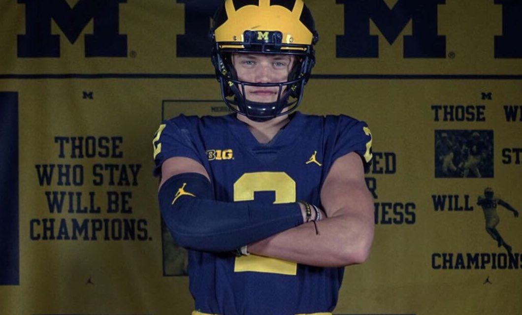 #Michigan QB commit @jjmccarthy09 named the 'Alpha Dog' this weekend by our own @JohnGarcia_Jr at a loaded NFA 7v7 National Championship: https://247sports.com/college/michigan/Article/NFA-7v7-National-Championship-Top-Performers-132910120/ …