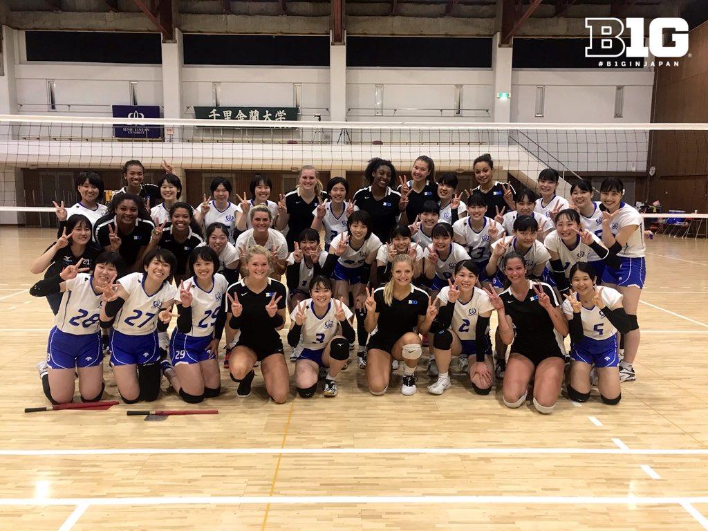 Thank you, Senri Kinran! #B1GinJapan | #B1GVolleyball