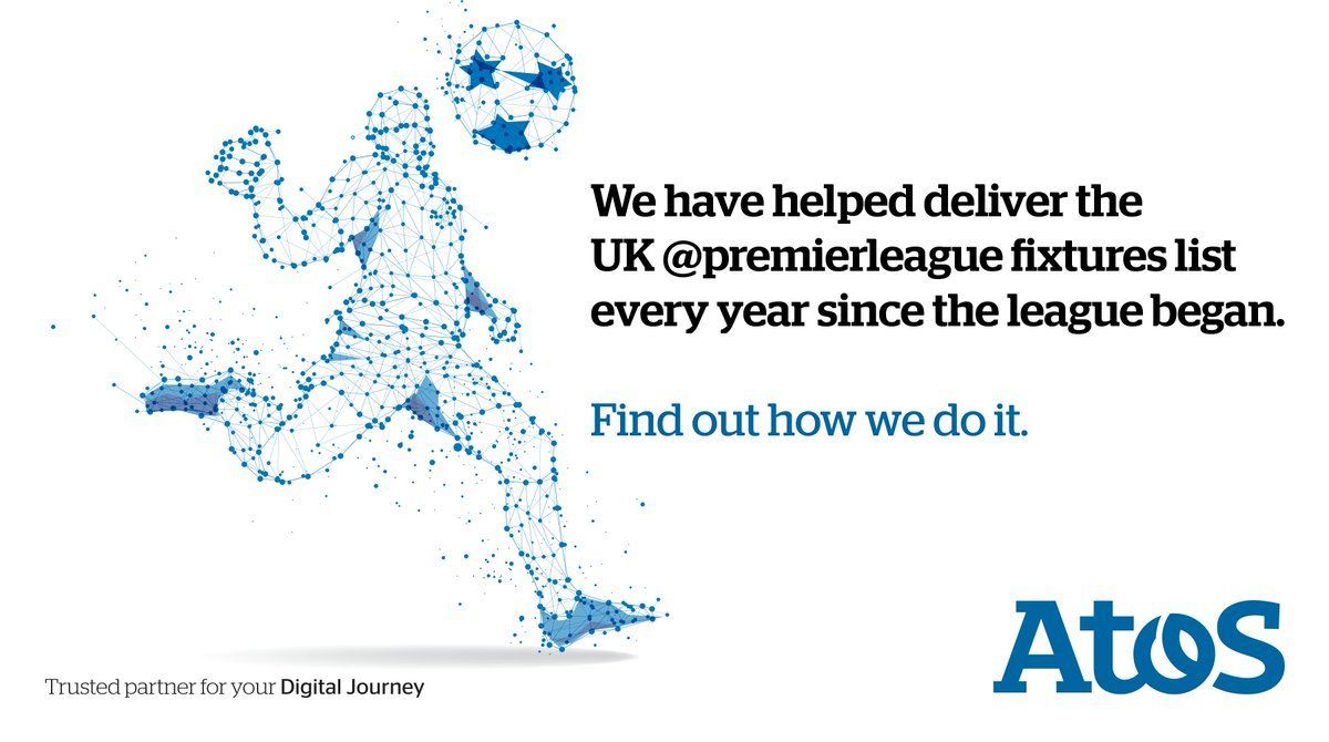 We have proudly helped deliver the @premierleague fixture list every year since the league began, find out how we do it. #football #PLfixtureshttps://okt.to/qZhguJ via @Atos