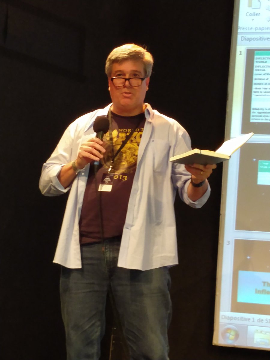 #ISMMS19 is on! Bryan Bardine (chair @metalstudies) #Nantes @lelieuunique <br>http://pic.twitter.com/VchR1ZYSed
