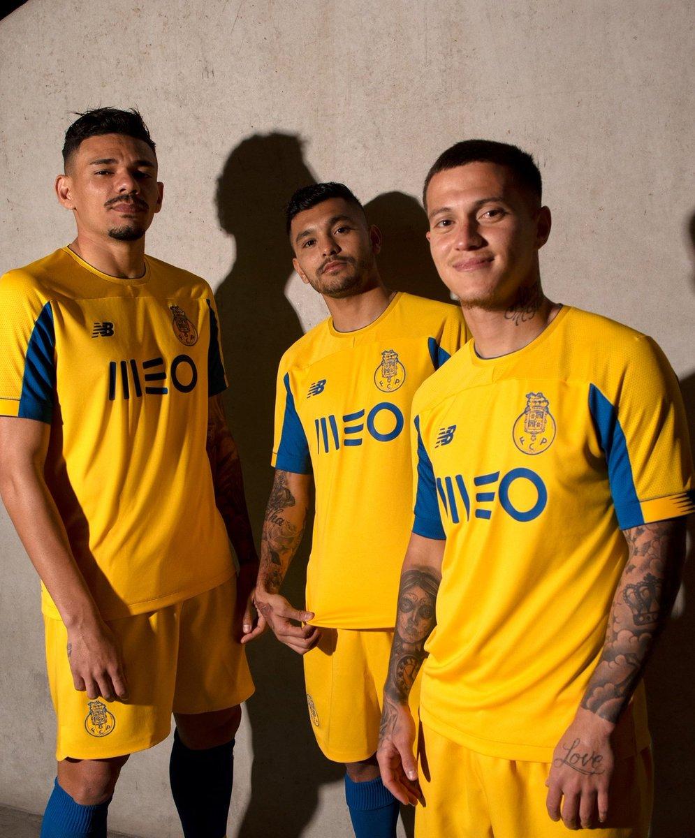 Porto revela o novo equipamento alternativo para 2019/20.