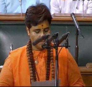 बीजेपी MP प्रज्ञा सिंह ठाकुर की शपथ पर विपक्ष काहंगामा https://www.newslab24.in/new-delhi/opposition-ruckus-on-oath-of-bjp-mp-pragya-singh-thakur/…