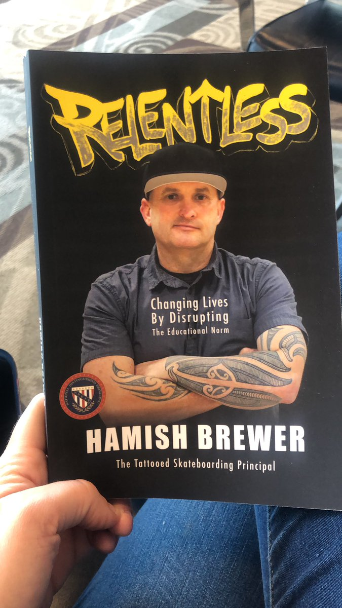 Summer reading starts today!! Can't wait to get this started!! @brewerhm #relentless