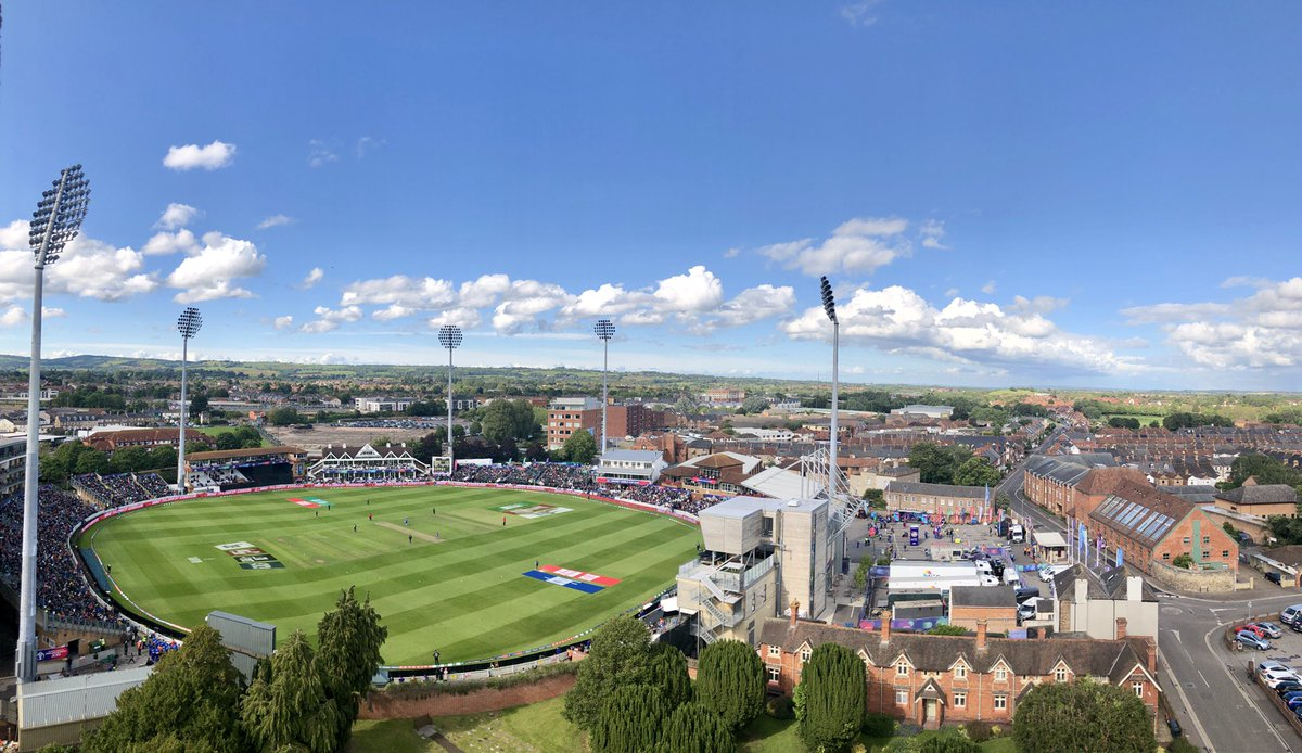 3️⃣ fantastic occasions! Its been an absolute pleasure @cricketworldcup 👊 #WeAreSOMERSET #CWC19 #AFGvNZ #AUSvPAK #WIvBAN