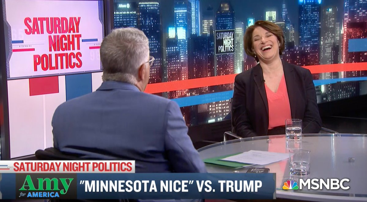 Last weekend on @SNPonMSNBC with Senator @AmyKlobuchar... https://t.co/h7crIbYGt2