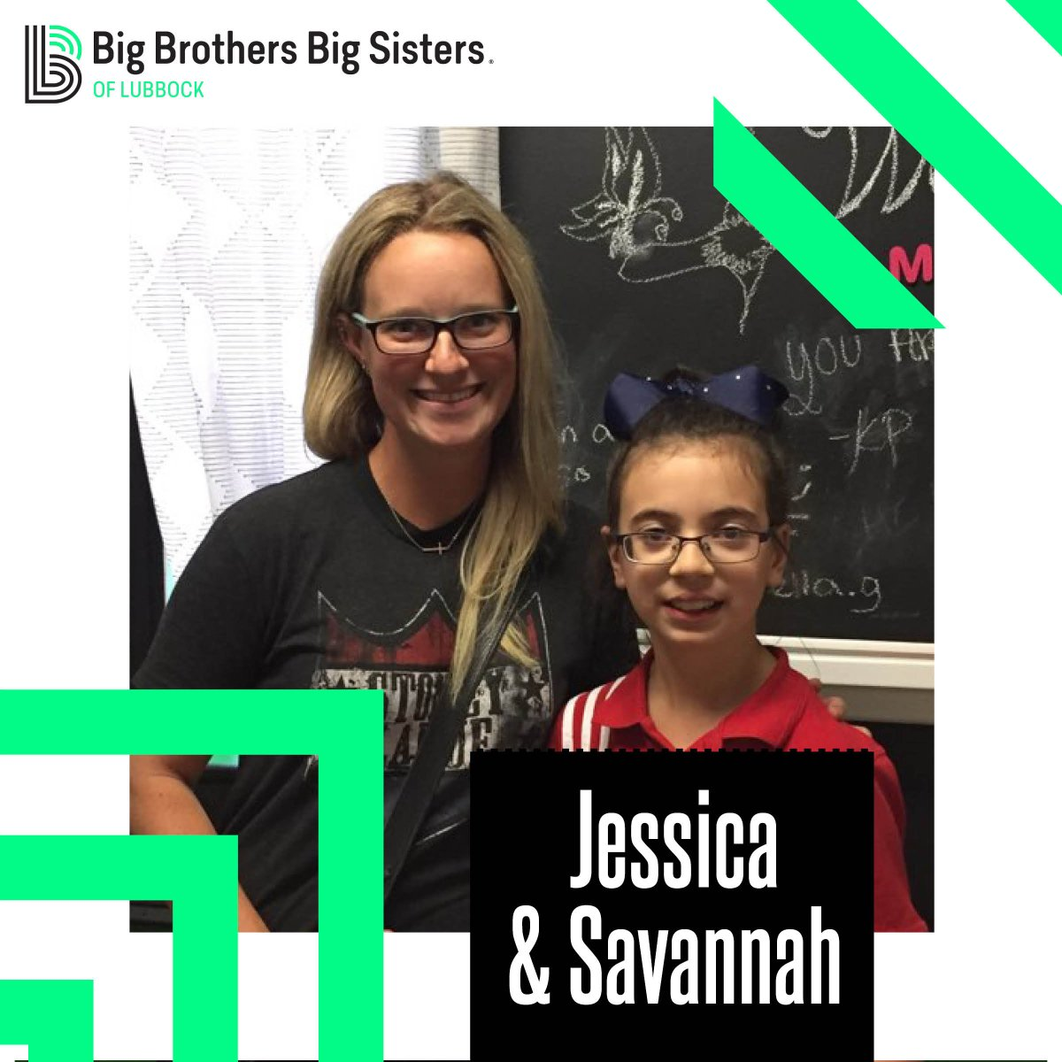 It's #newmatchmonday y'all! Meet Big Sister Jessica and Little Sister Savannah. These two went to the BBBS Bowling Event last month for their first outing. They would like to spend their time together making crafts, playing basketball and working with horses! https://t.co/QIFxfWlNBM
