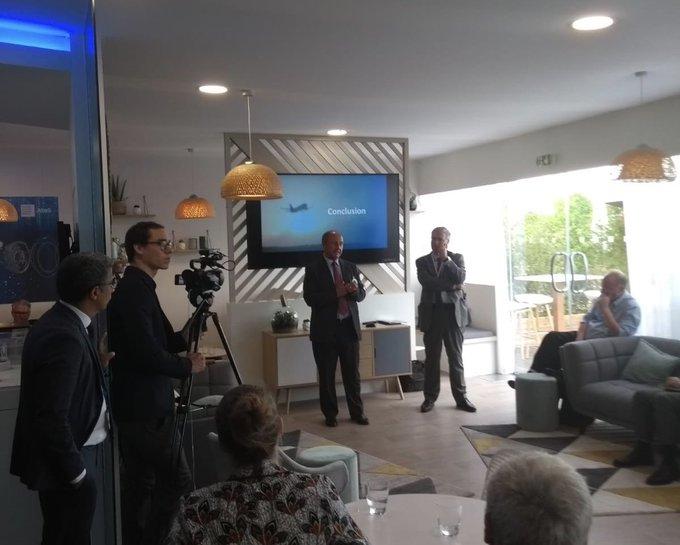 #PAS19 📅 A.Greffier de @Siemens_France et S.Janichewski d'#Atos remercient tous les partici...