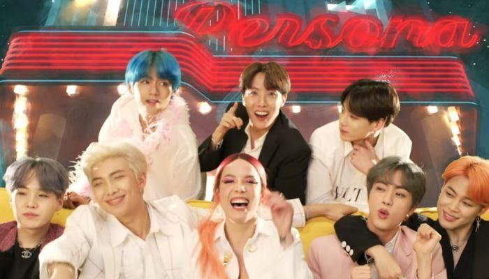 #BoyWithLuv f/ @halsey has become the most played song by a K-Pop group on U.S. radio @BTS_twt @ColumbiaRecords @bts_bighit<br>http://pic.twitter.com/LojjV3Abxu