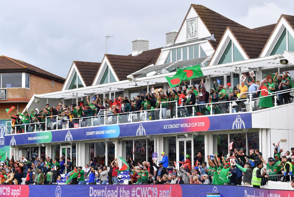 ICC Cricket World Cup surprises as Bangladesh chases a Mammoth score against West Indies