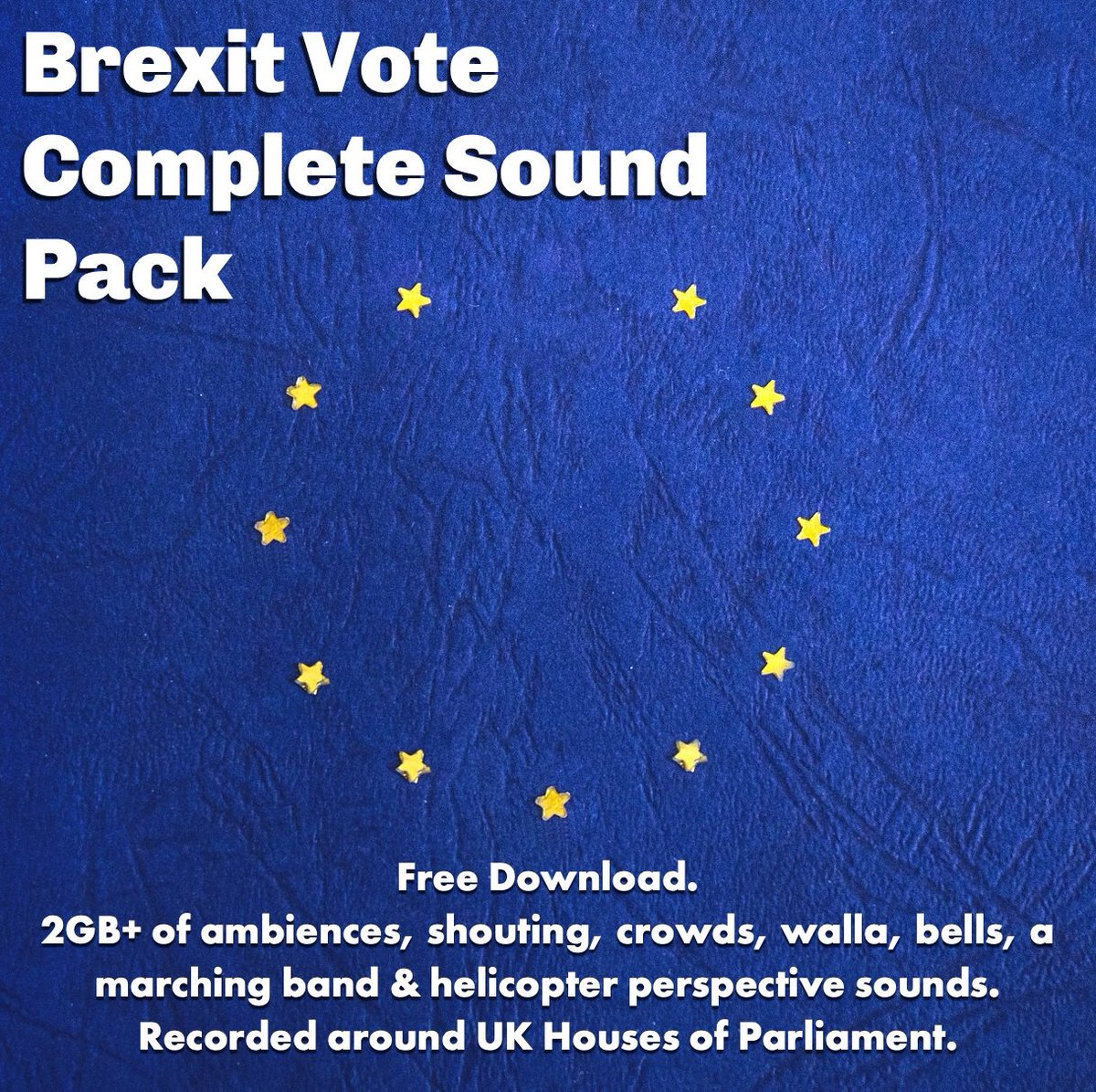 Missed my #Brexitvote Sound Packs earlier this year? Get a free download of the complete collection with over 2GB of ambiences around UK parliament with shouting, crowds, walla, bells & plenty helicopter perspective. #sounddesign #audiopost #soundrecording  http:// bit.ly/brexitvotecomp letesoundpack   … <br>http://pic.twitter.com/2oeNo7Nl4e