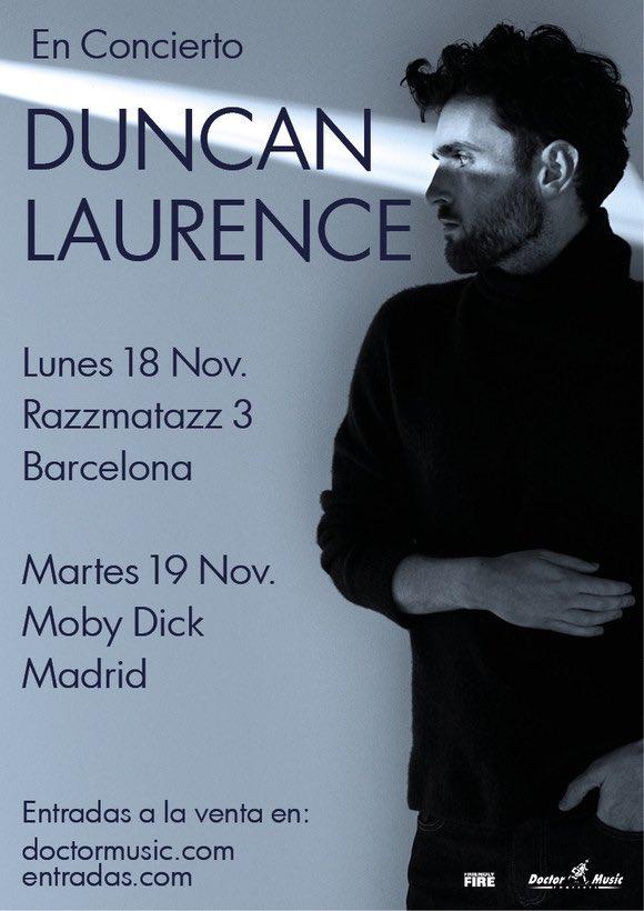 RT @viva_eurovision: Duncan Laurence Hace parada en España con su gira europea   https://t.co/gtxIkjV3G3 https://t.co/qq9suh9isx