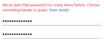 """fuckmicrosoft"" is a popular password for Visual Studio licenses."