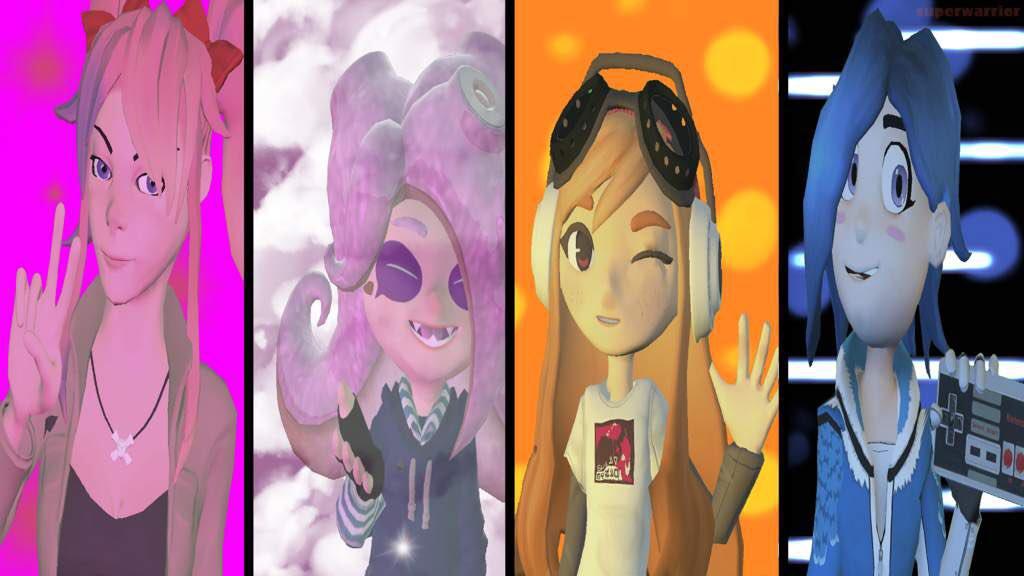 SMG4 Girls  Second Version #smg4 #desti #meggy #saiko #tari Tweet