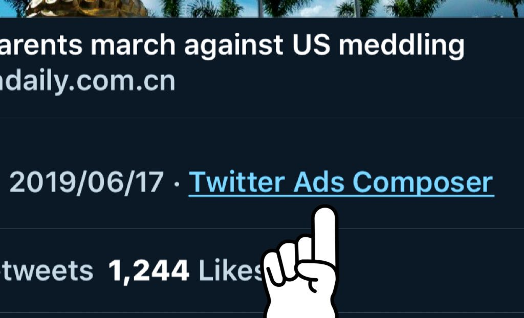 This tweet is not a journalistic report. It's an advertisement https://twitter.com/chinadaily/status/1140454015458840577…