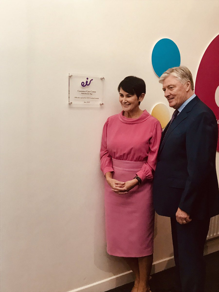 Congrats @carolan_lennon CEO @eir on the successful @eircare office launch in Sligo this morning with @PatKennyNT. @MMKIreland @M3Ssolutions were delighted to partner with Gráinne,Therese & all the team @Eir in the recruitment of more than 200 to date &wish you continued success https://t.co/KYaqSN6VjG
