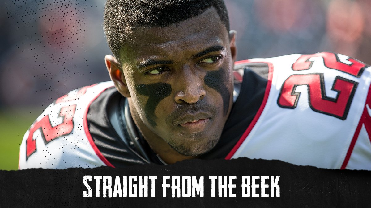 The @AtlantaFalcons are away 'til training camp, but the questions are rolling in. Topics ... * Status of Keanu Neal, Ricardo Allen * Backup QB; a possible running back battle * Saints offensive line (!) * Strong take on uniforms, and more 📫 SFTB link - https://atlfal.co.nz/2XgcCJ7