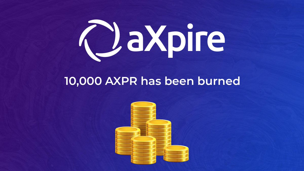 Tweet by @aXpire_official