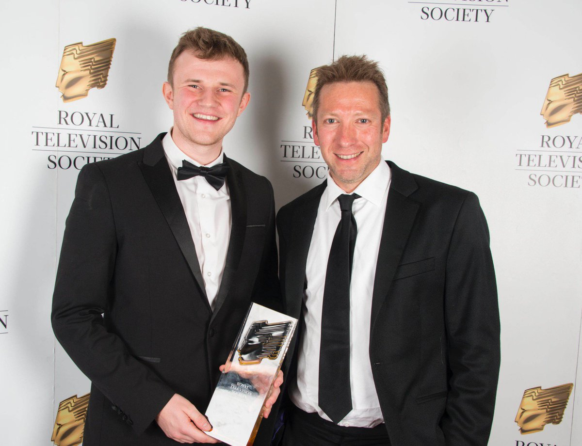 "Congratulations to Northern Film School @NFSFilmTV 2018 graduate, Harry Lock. He's just been awarded the coveted RTS Yorkshire Industry Award ""One to Watch"" last Friday, nominated by True Vision @truevisionyorks where he has a permanent position as Production Assistant. Amazing!"