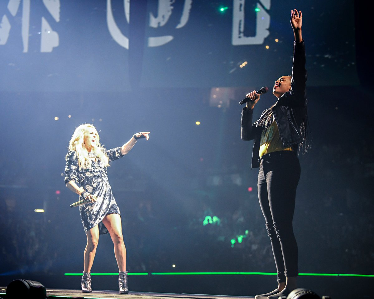 When you wake up and realize that it wasn't a dream.   @carrieunderwood + @EricaMcCall24 = 🏆 CHAMPION 🏆   #Fever20 #AllForLove