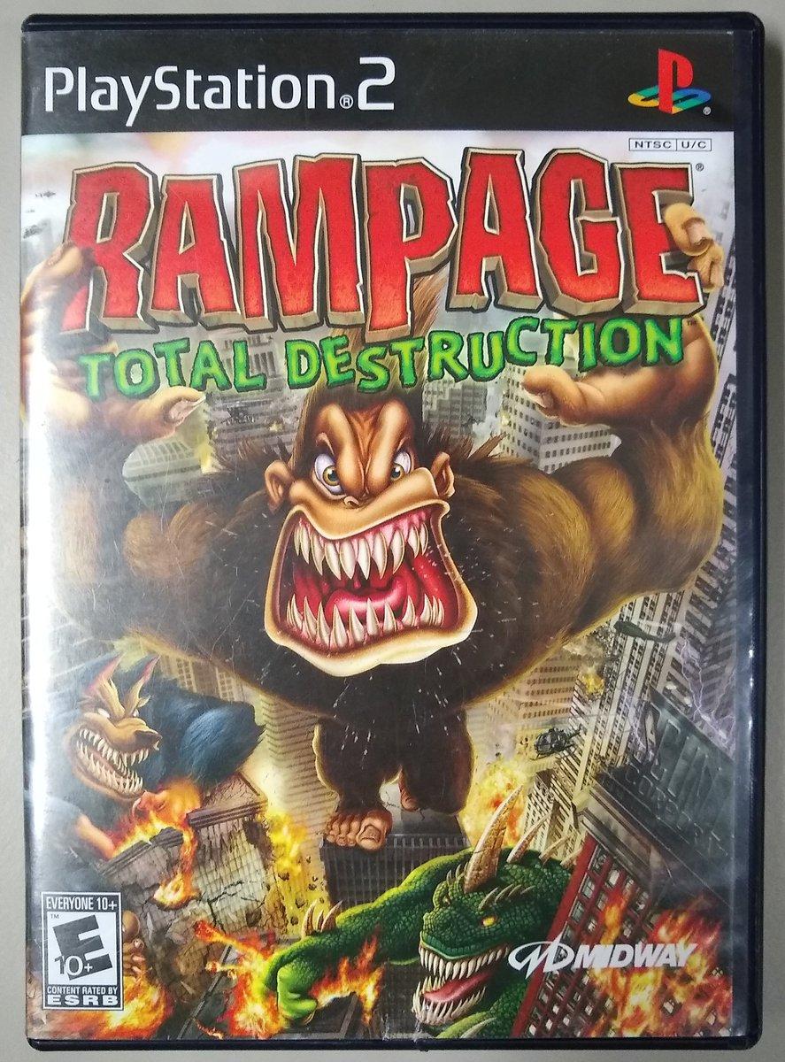 Rampage: Total Destruction PS2 (PlayStation 2) Developer: Pipeworks